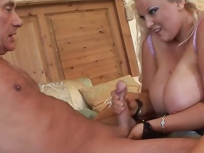 OMG! Stepmom Gets Spunk In Her Rear End By Horny Old Geezer