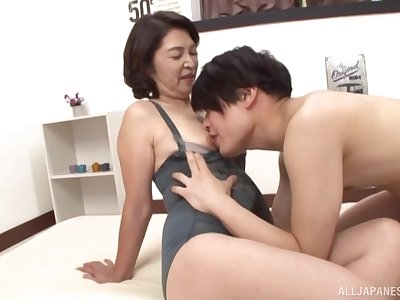 Matured from Tokyo, first seniority getting laid far her nephew