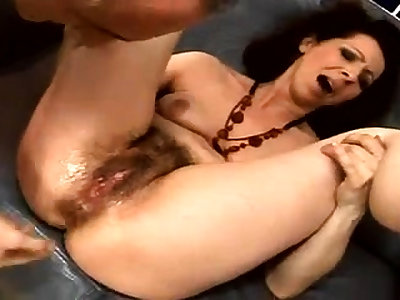 Close wide fucking for a hairy pussy