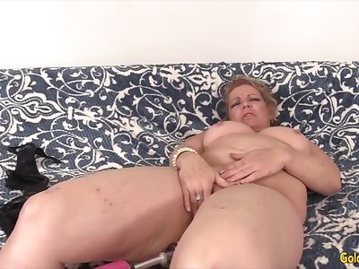 Golden Slut - Mature Women Getting Railed by Making out Machines Compilation 6