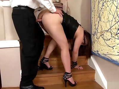 Asian knockout loves beast plowed fixed
