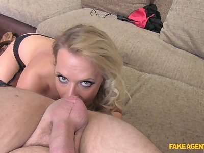 Excellent POV making love and nudity by blonde Sasha Steele