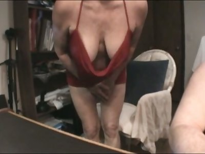 This matured slut has some accurate suckable breasts with the addition of she is a skillful BJ giver